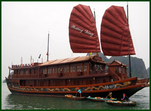 Halong Bay tour - Amigo junk cruise 3 days 2 nights