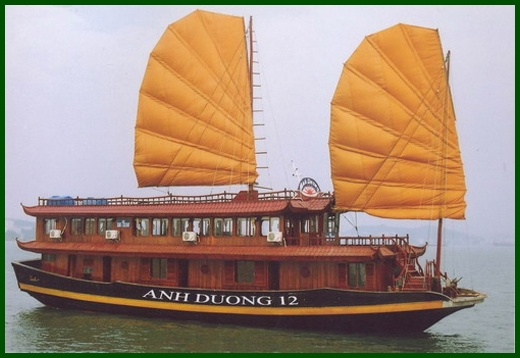 Halong Bay tour - Anh Duong junk cruise 3 days 2 nights