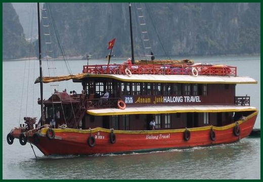 Halong Bay tour - Annam junk cruise 2 days 1 night