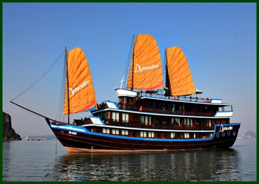 Halong Bay tour - Aphrodite junk cruise