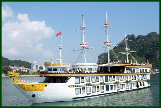 Halong Bay tour - Dragon Legend cruise