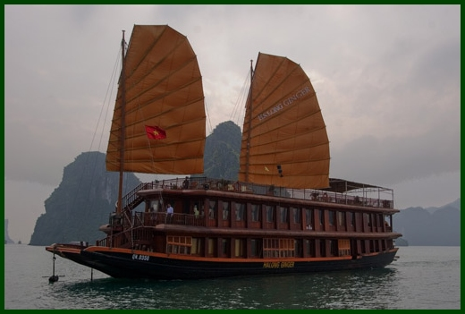 Halong Bay tour - Ginger junk cruise 2 days 1 night