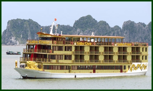 Halong Bay tour - Golden 9999 cruise