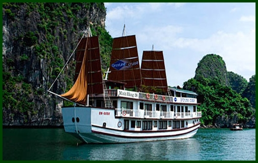 Halong Bay tour - Gray Line cruise 2 days 1 night