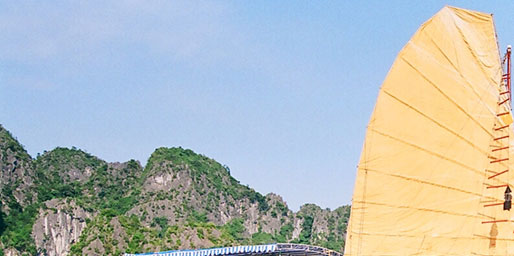 Halong Bay tour - Canary junk cruise
