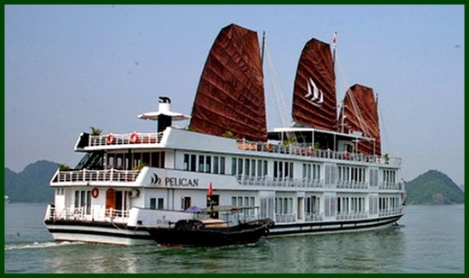 Halong Bay tour - Pelican junk cruise 3 days 2 nights