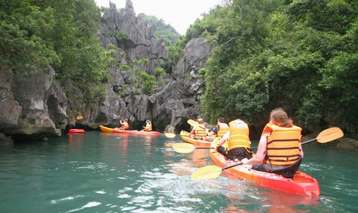 Halong tour promotion