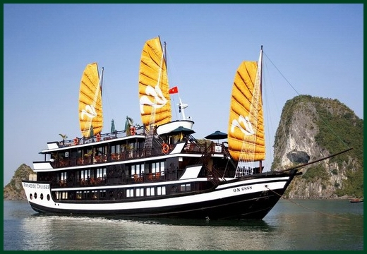 Halong Bay tour - Paradise junk cruise