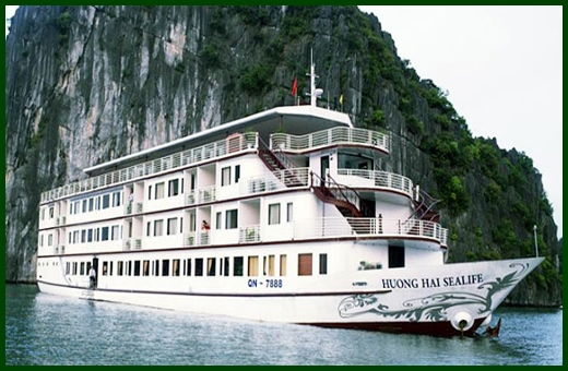 Halong Bay tour - Huong Hai Sealife cruise 3 days 2 nights