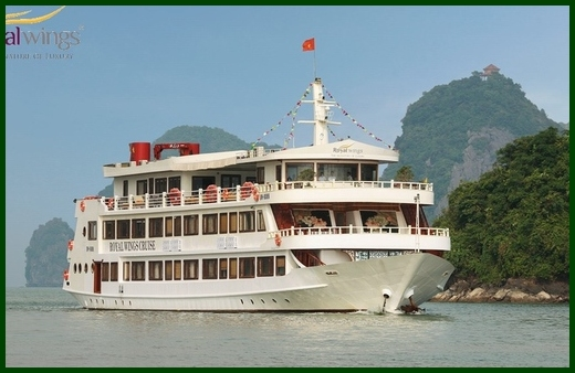 Halong Royal Wings cruise 2 days 1 night